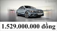 Giá xe Mercedes CLA 200 2017