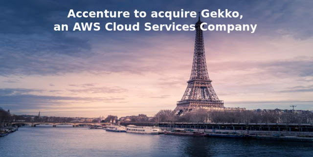 Accenture to acquire Gekko, an AWS Cloud Services Company