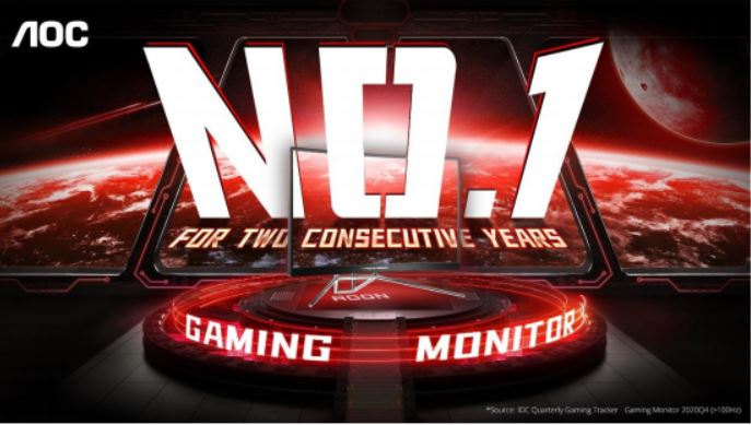 AOC Pimpin Pasar Monitor Gaming Dunia di 2020