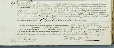 Geboorteakte Gijsbertus Antonius Welling