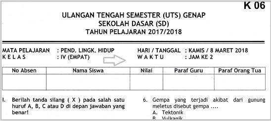 Thank you very much for the professional job you do. Soal Uts Plh Semester 2 Kelas 4 Sd Dan Kunci Jawaban