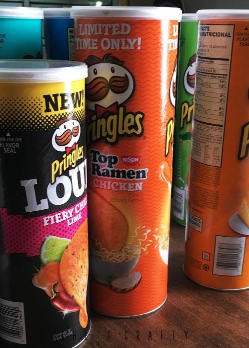 Summer Activities - Bucket List - Ideas to do at Home - taste test - pringles taste test