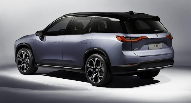 China, Electric Vehicles, Nio, Reports, SUV