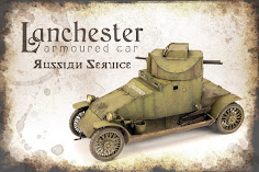Painting, weathering & finishing the 35th scale Lanchester Armoured Car 'Russian Service' from Copp