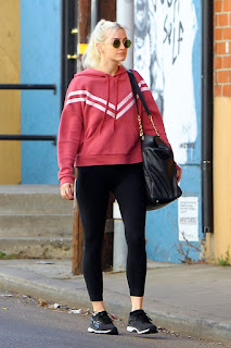 Ashlee Simpson Heading To Gym In Los Angeles