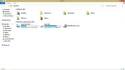 Hasil Mengganti Font Windows 8