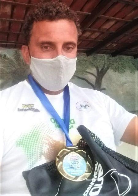 Atleta Bodyboard da Ilha , Vagner comemora a quarta colocação em competição nacional