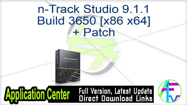n-Track Studio 9.1.1 Build 3650 [x86 x64] + Patch