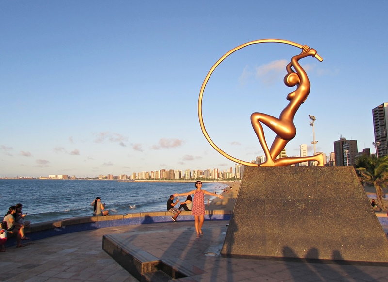 Pôr do sol mais lindo de Fortaleza