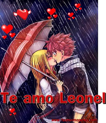 Te amo Leonel