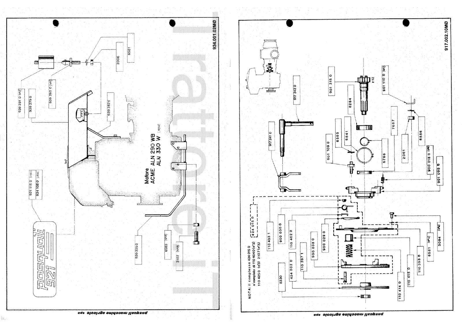 InfoTrattore.it: Motocoltivatore Pasquali 922.10 Manuale
