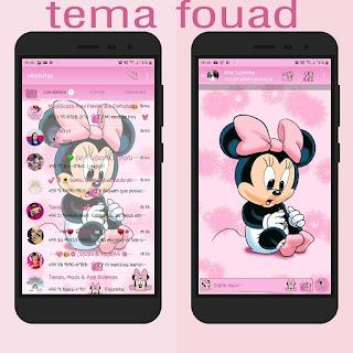 Minnie Baby Theme For YOWhatsApp & Fouad WhatsApp By Jessic