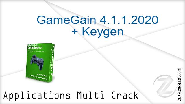 GameGain 4.1.1.2020 + Keygen
