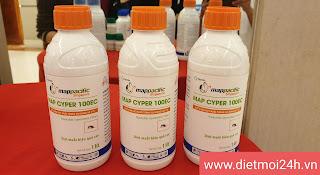 Thuốc diệt muỗi Map Cyper 100EC