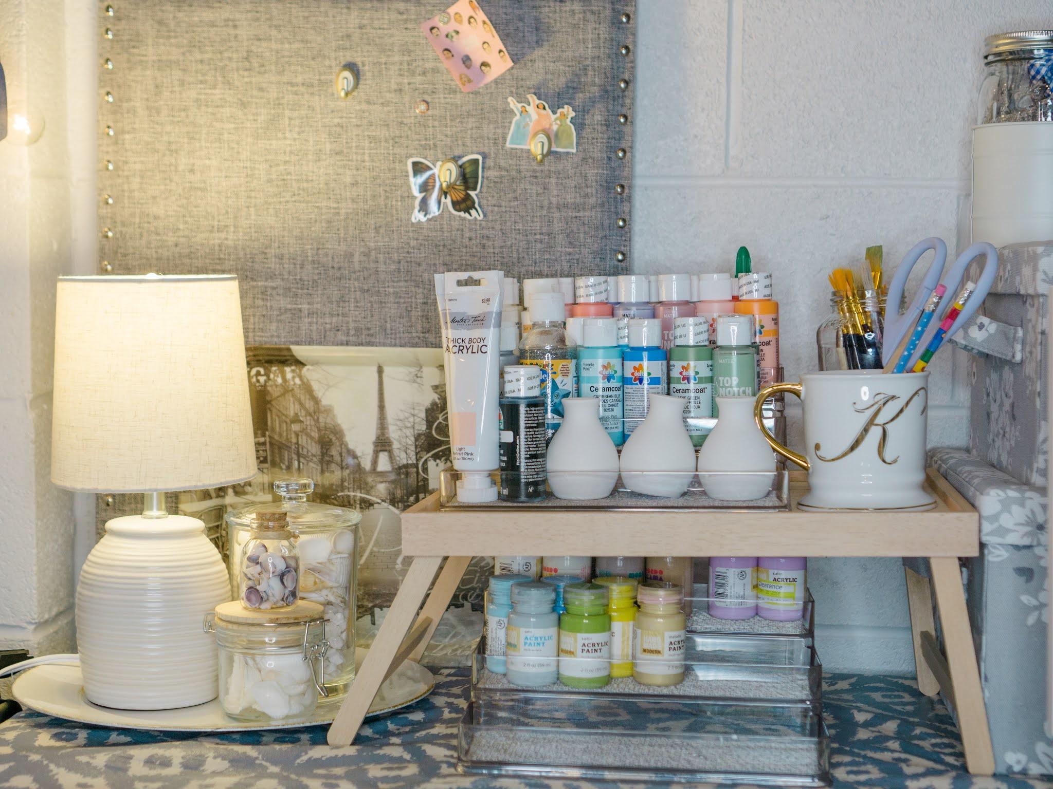 make shift craft room