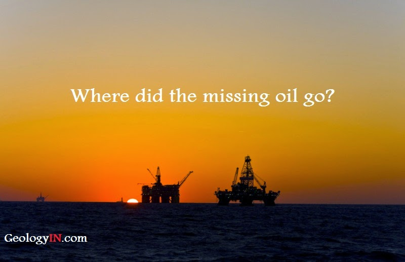 Where Did the Missing Oil Go?