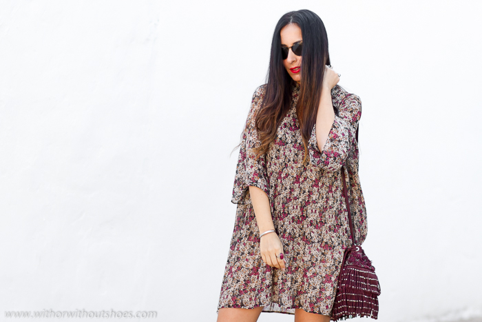 Blogger de moda belleza valenciana con ideas para esti de zara con botas por encima de la rodilla