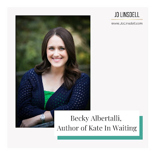 Becky Albertalli,  Author of Kate In Waiting