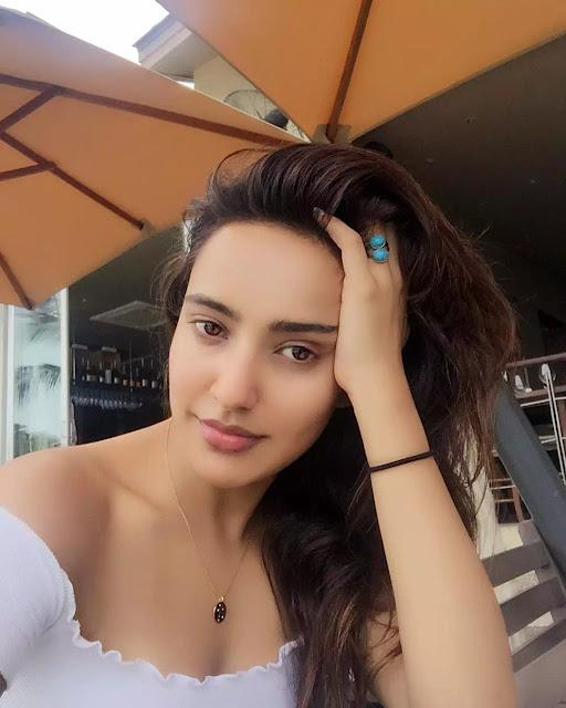Neha Sharma Layered Haircut
