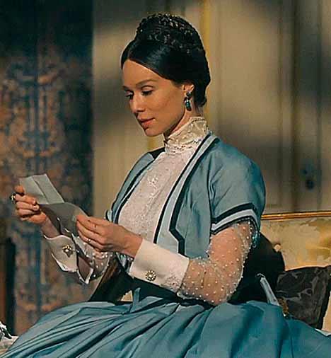 Condessa de barral lendo carta
