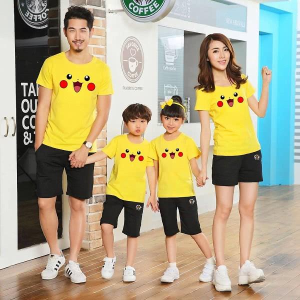 Áo đồng phục gia đình mẫu 1