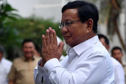 Malam Ini, Prabowo Akan Buat Surat  Wasiat di Kertanegara