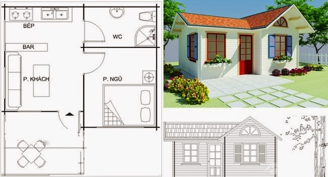 Fachadas de casas peque as fotos e im genes de casas for Fotos de casas modernas y sus planos