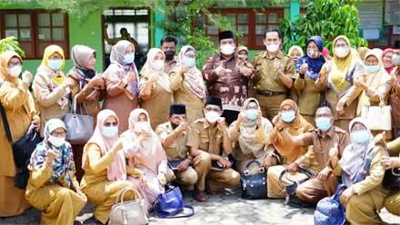 Bupati Silaturahmi dengan Kepsek, Pengawas TK/PAUD, SD dan SMP se-Sungai Limau