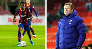 Ilaix Moriba turned down offers from Man Utd and RB Leipzig thanks to Ronald Koeman
