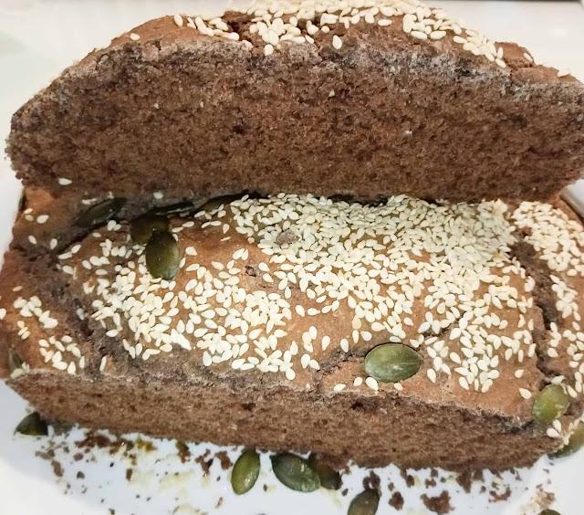 Pão rústico homemade