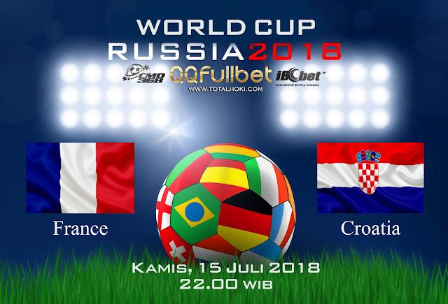BOLA88 - PREDIKSI SEMIFINAL PIALA DUNIA: PERANCIS VS KROASIA 15 JULI 2018 ( RUSSIA WORLD CUP 2018 )