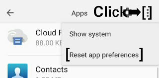 Reset App Preference Android
