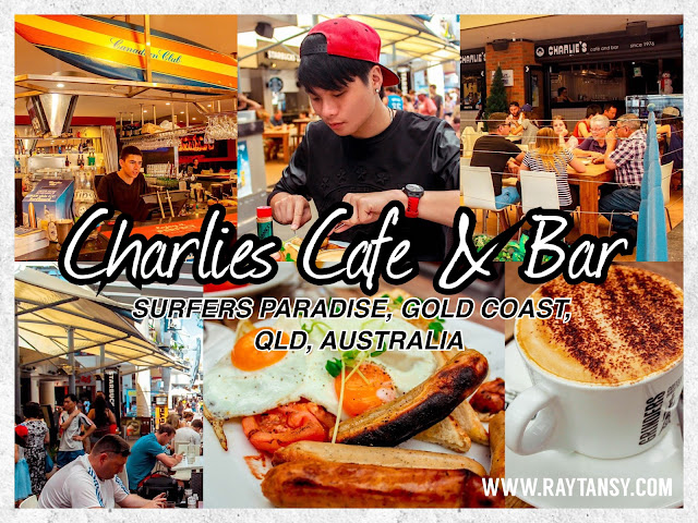 Ray Tan 陳學沿 (raytansy) ; Charlie's Cafe & Bar @ Surfers Paradise, Gold Coast, Queensland, Australia 黃金海岸 澳洲澳大利亞 昆士蘭