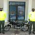 Moto robada en San Joaquín apareció en Los Fundadores