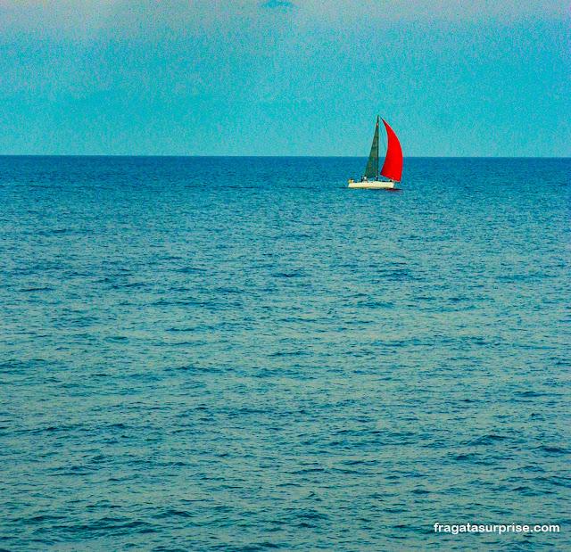 Barco a vela em Malta