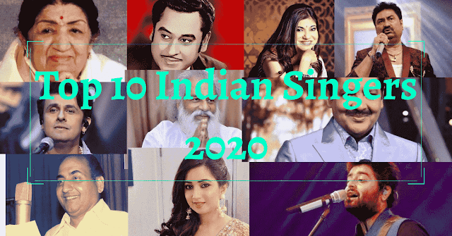 Top 10 Indian Singers Of All Time (2020)