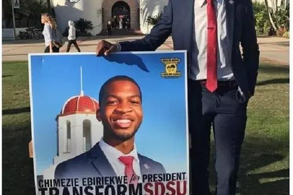 nigerian emerges students union president in california. Black Bedroom Furniture Sets. Home Design Ideas