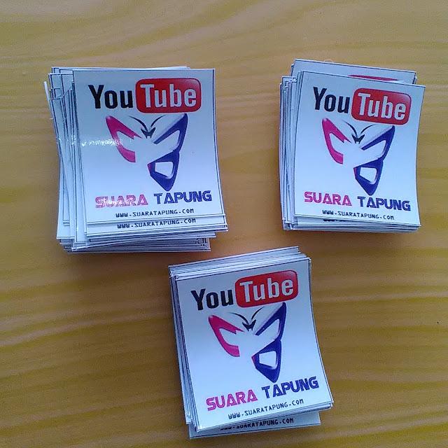 Stiker Suara Tapung