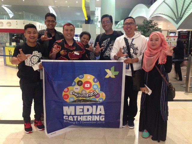 PESONA NEGERI LASKAR PELANGI: XL Media Gathering (Hari 1: Flight Medan - Belitung)