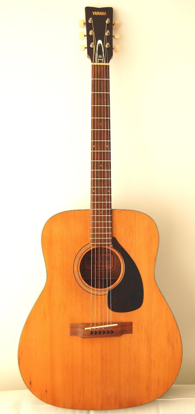 What Yamaha Guitar Strings For A Yamaha Fgs
