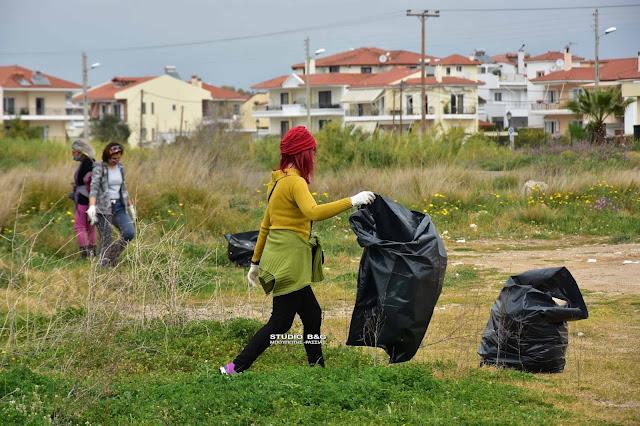 """Έδρασαν και πάλι οι εθελοντές του """"Save your Hood"""" σε Ναύπλιο και Άργος"""