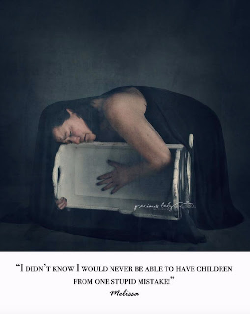 Powerful: Photographer brings post-abortion grief to life in new photo series