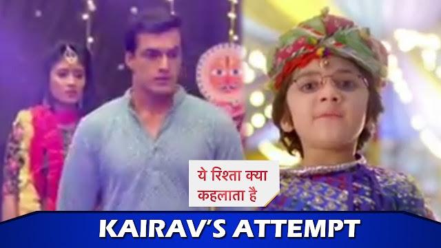 Master Plan : Little Kairav's master plan to reunite Kartik Naira's rishta on Navratri in YRKKH