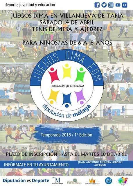Juegos DIMA en Villanueva de Tapia
