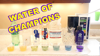 2. GOOD ALKALINE (pH) WATER by Timothy McGaffin II - Water of Champions