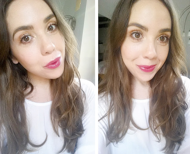 valentines day makeup look, simple motd