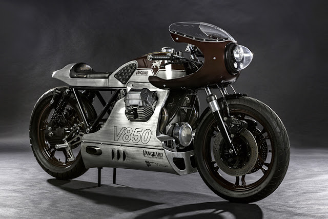 Moto Guzzi V850 Le Mans By Wrench Kings Hell Kustom