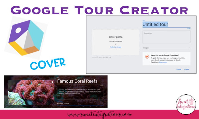 Creating a cover for Google Tour Creator