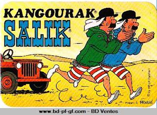 collectionner les auto-collants SALIK