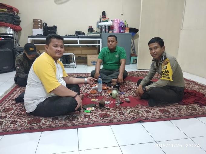 Binmas Sambang Sekertariat RW 03, Berikan Himbauan Kamtibmas